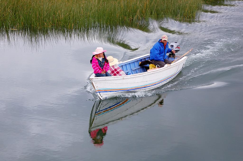 Моторный транспорт местных индейцев