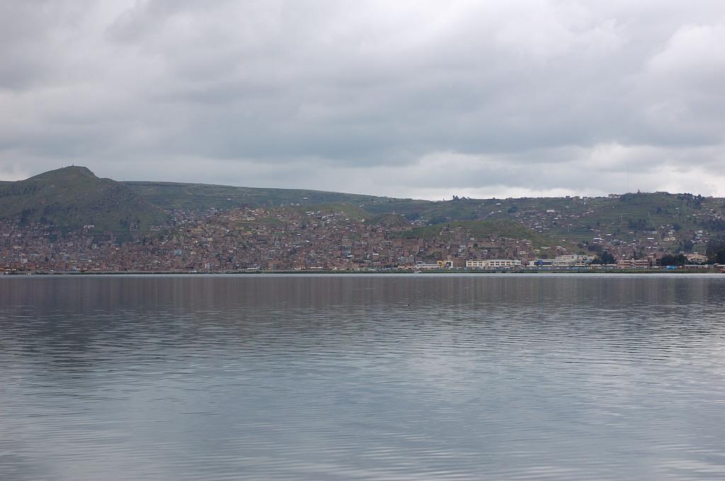 Пуно, вид с озера