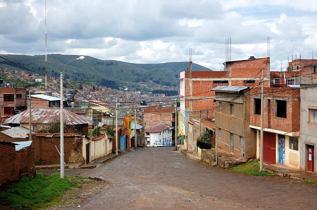 Типичная перуанская архитектура