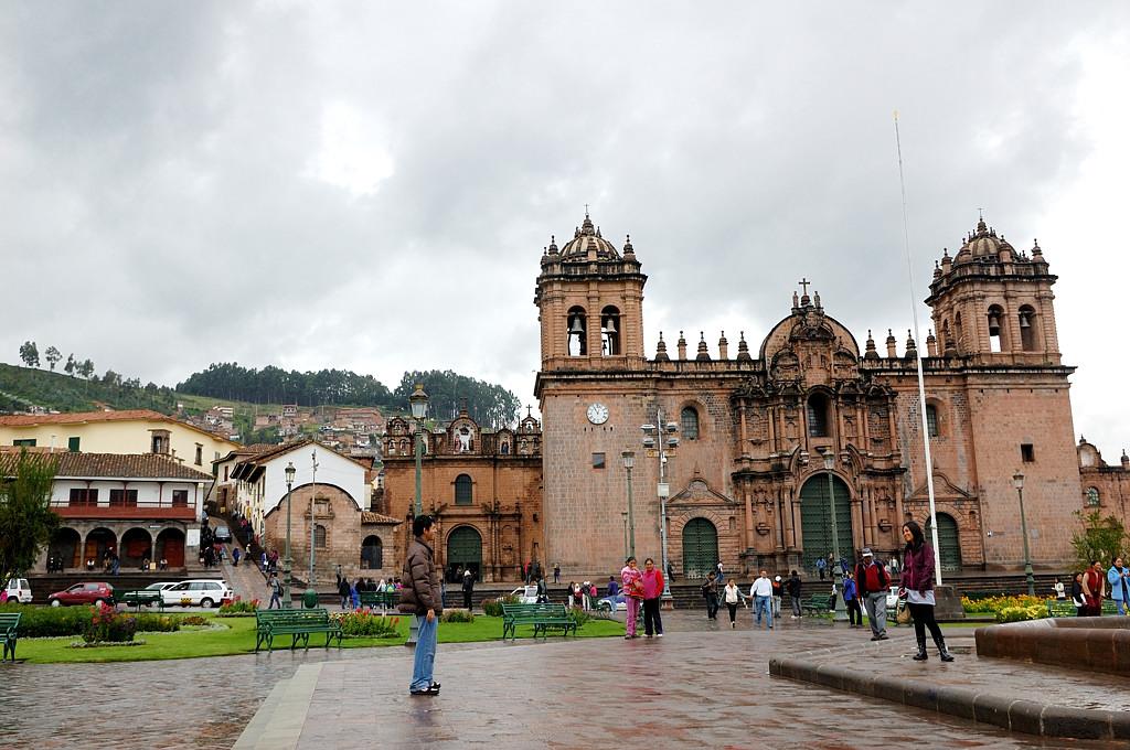 Плаза де Армас в Куско
