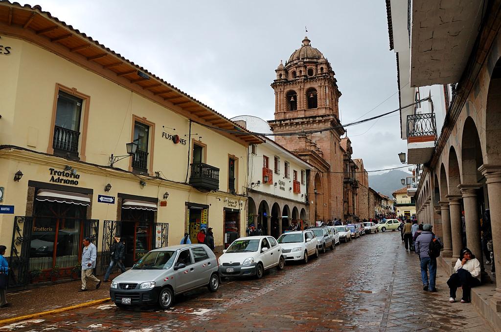 На улицах Куско