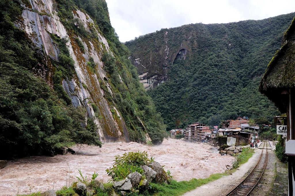Вот и конечная точка маршрута - городок Агуас Калиентес