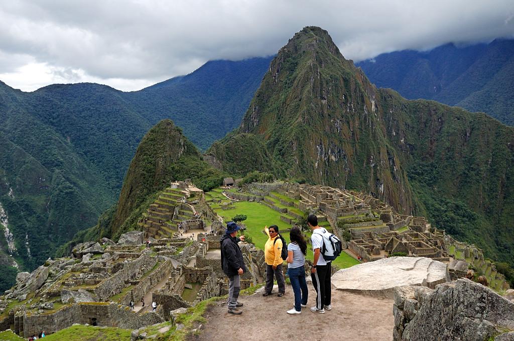 Древний город инков и гора Вайна-Пикчу