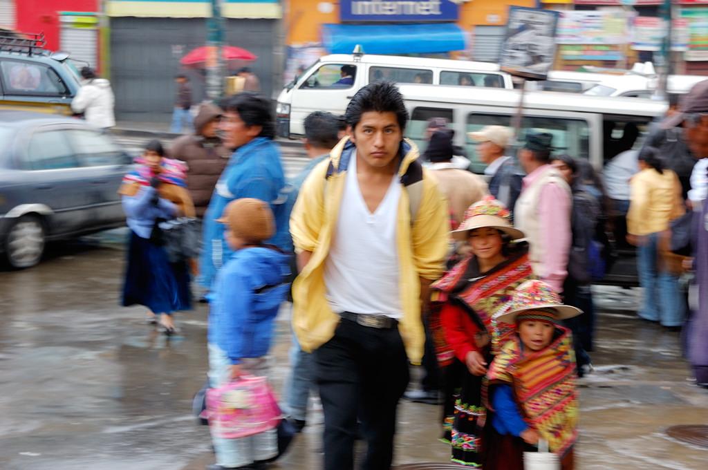 На улицах Ла-Паса