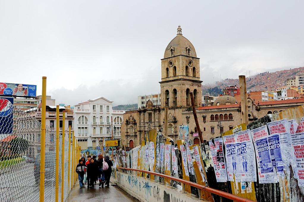 На площади у собора Св.Франциска