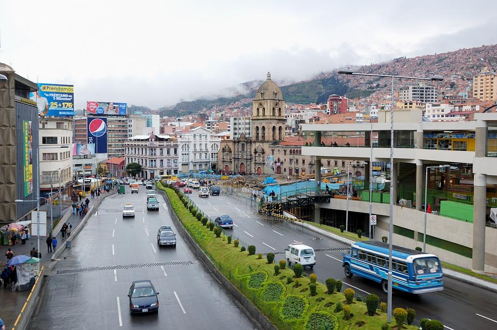 Центральная улица - Авенида Перес Веласко