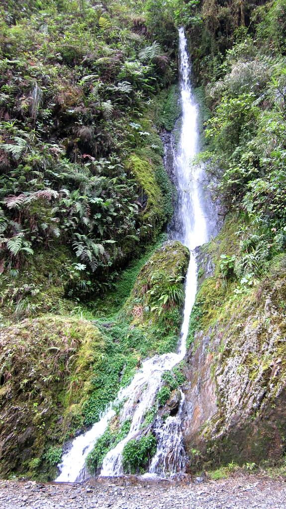 Один из множества водопадов