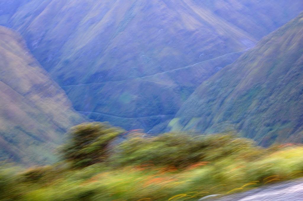Едем по новой дороге Коройко - Ла-Пас