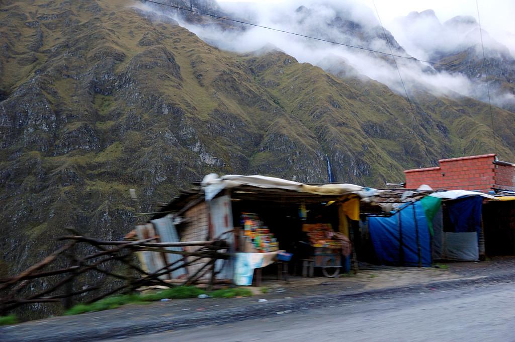 Придорожная инфраструктура на трассе Коройко - Ла-Пас