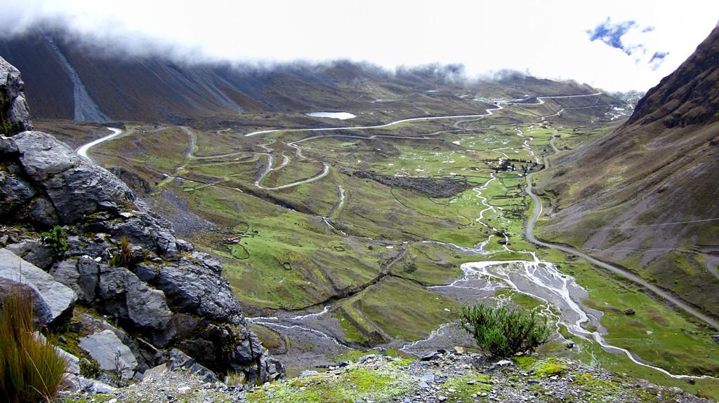 Высота 4650 метров. Вид на долину