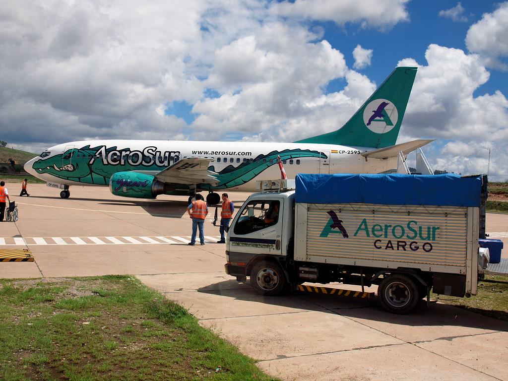 Еще один аэросуровский Boeing 737