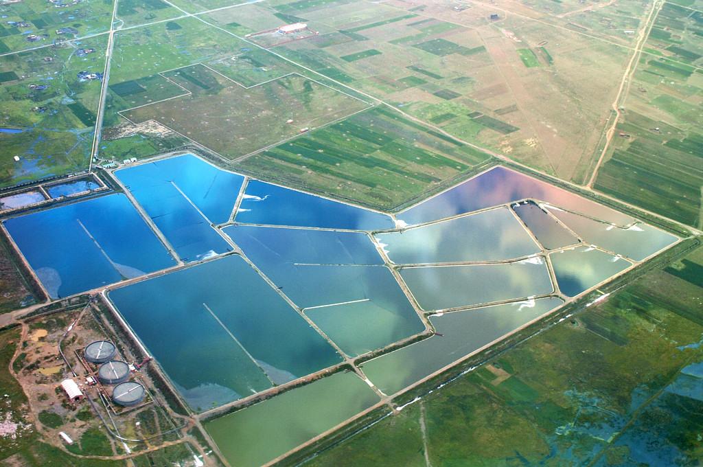 Очистные сооружения в окрестностях Эль-Альто