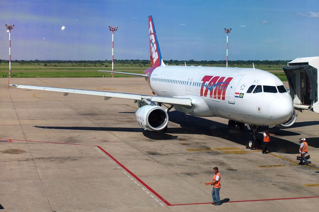 A-320 бразильско-парагвайского ТАМ. Хотя парагвайского там уже мало.