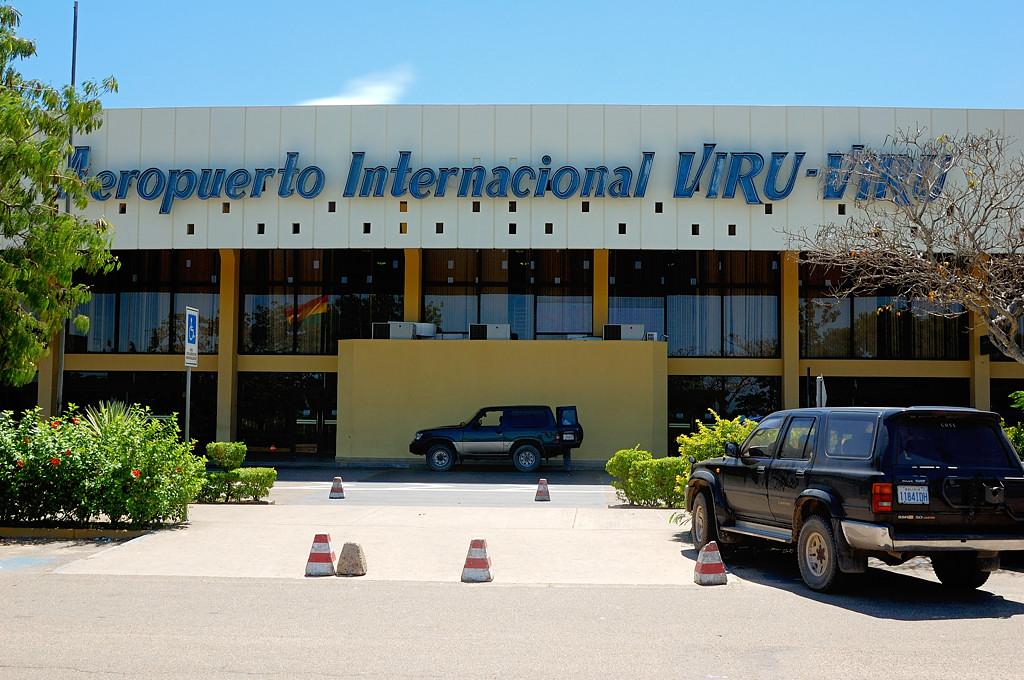 Аэропорт Виру-Виру в Санта-Крус-де-ла-Сьерра