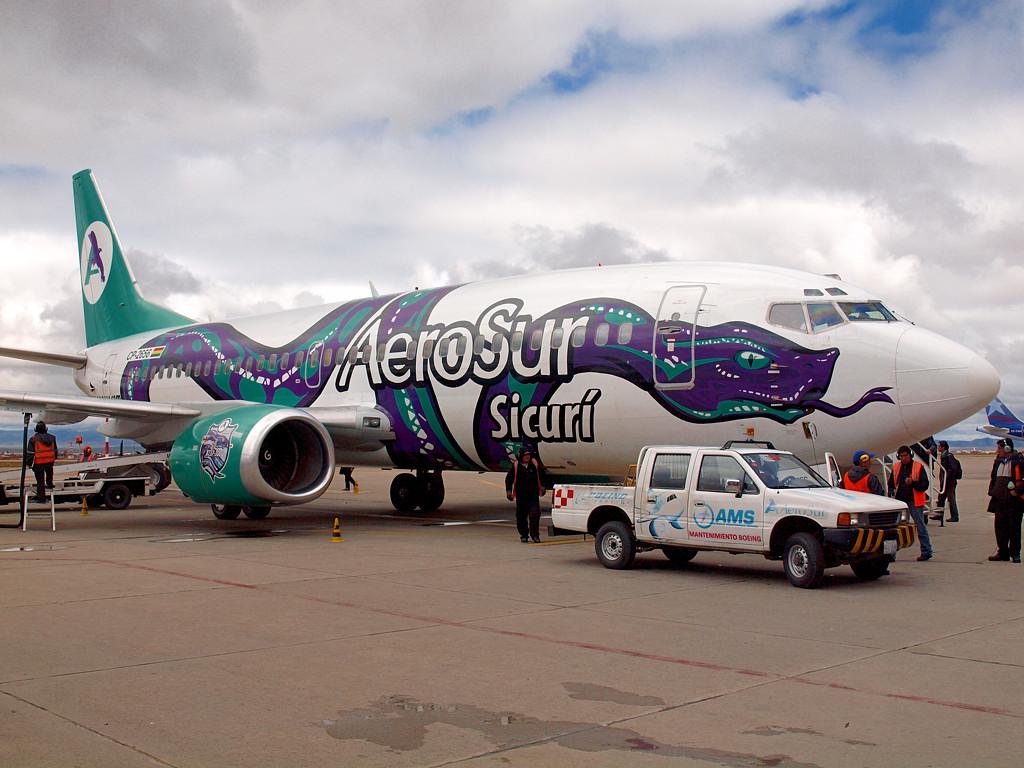 Уже знакомый нам Boeing 737