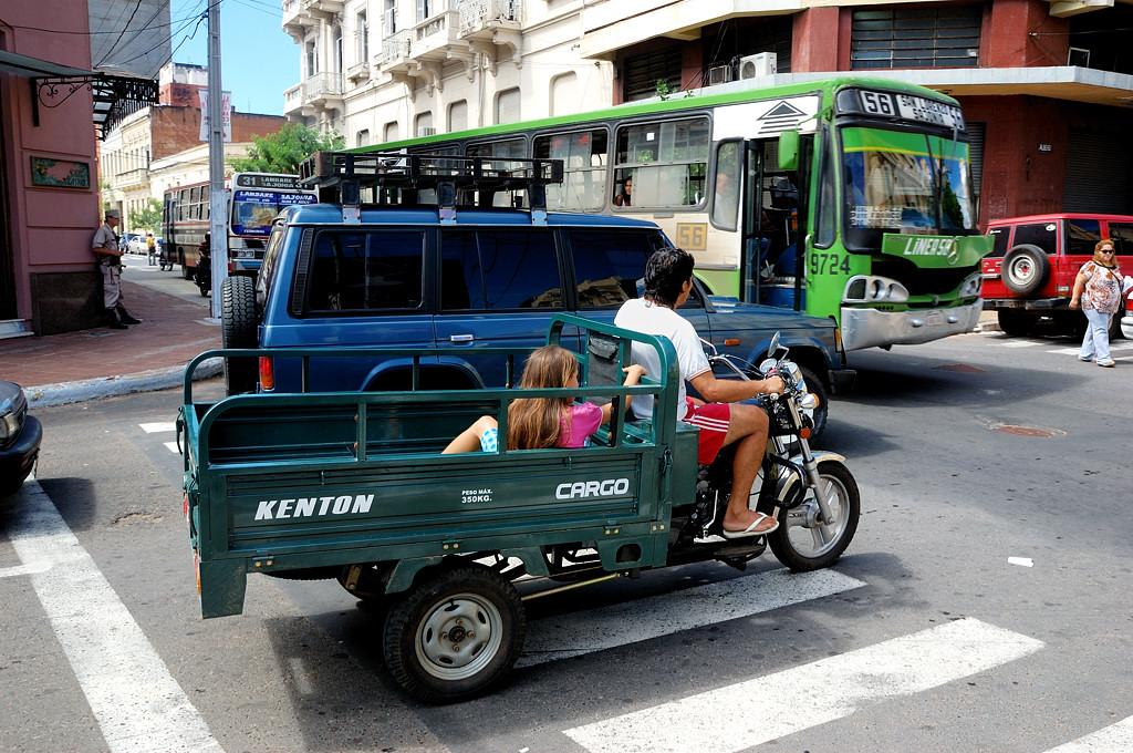 На улицах Асунсьона