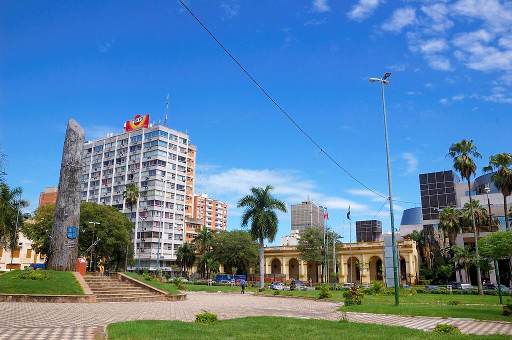 На площади Плаза де лас Армас