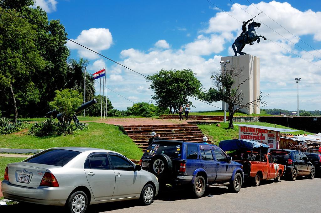 Памятник президенту Лопесу