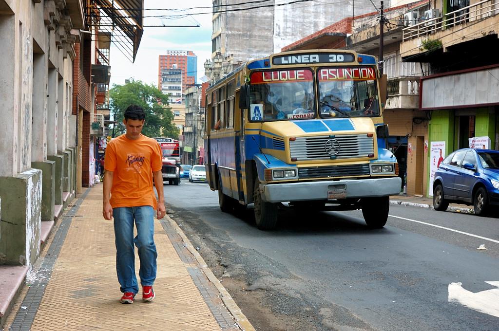 Парагвайские автобусы очень колоритны