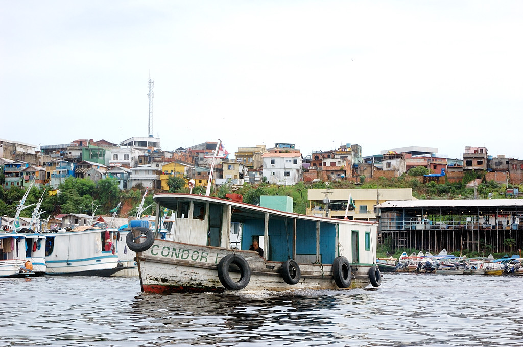 Лодки на Риу-Негру