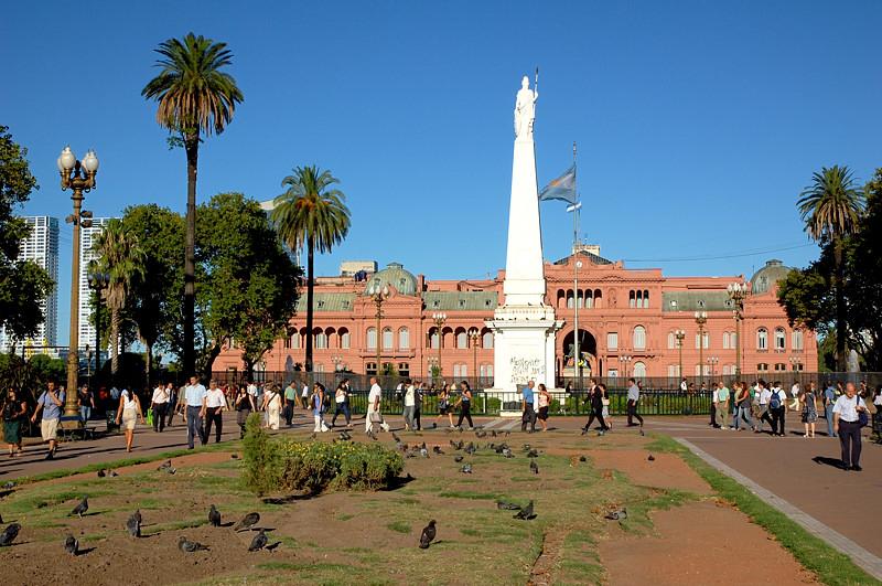 Президентский дворец Каса Росада