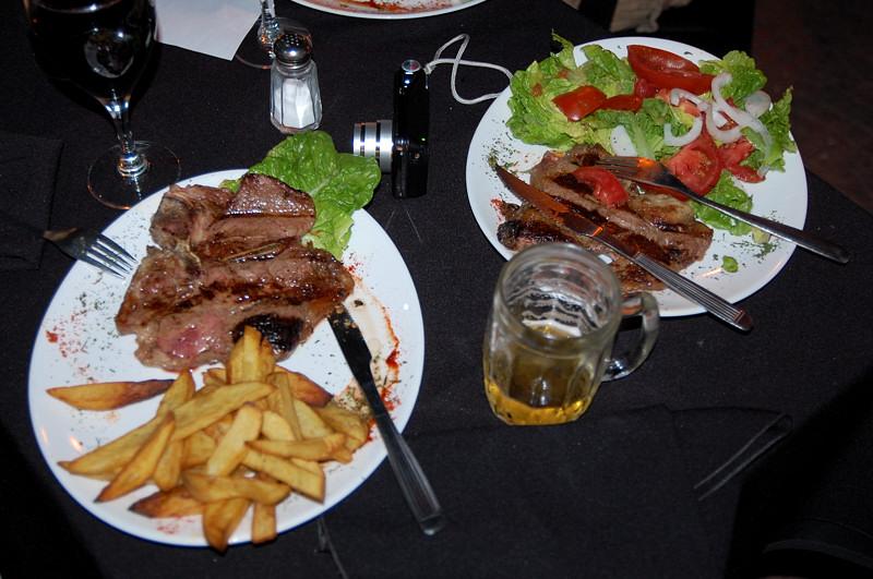 Аргентинский ужин