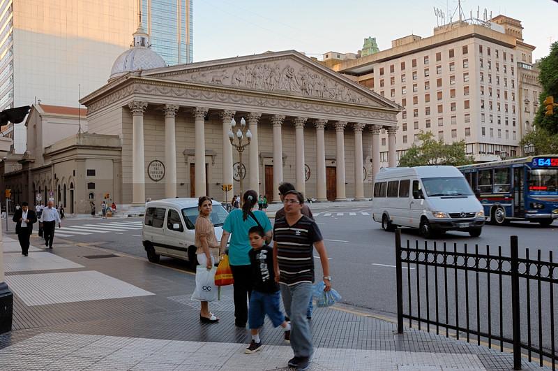Кафедральный собор на Плаза де Майо