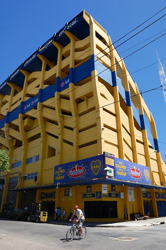 Стадион футбольного клуба Бока Хуниорс