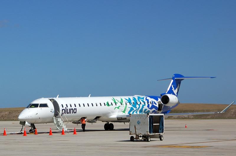 Самолет уругвайской авиакомпании Pluna