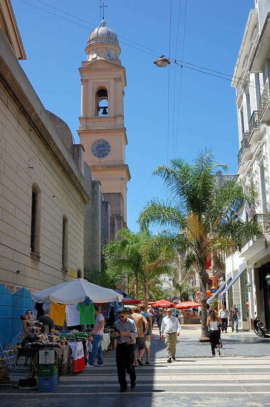 Пешеходная улица Саранди