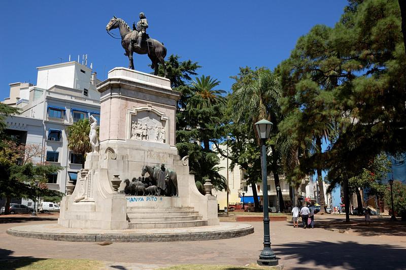 Памятник Бруно Маурисио де Сабала, основателю города