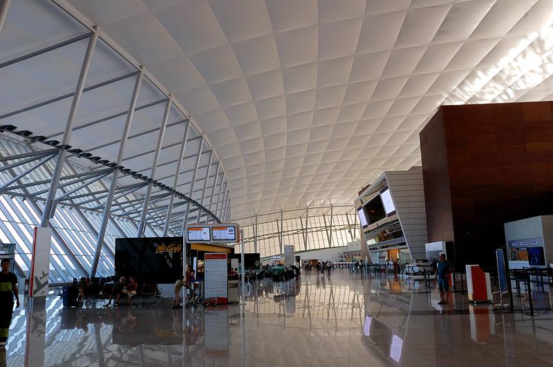 Современный аэропорт Монтевидео