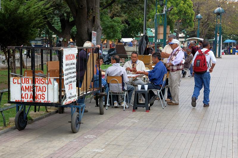 На улицах Вальпараисо