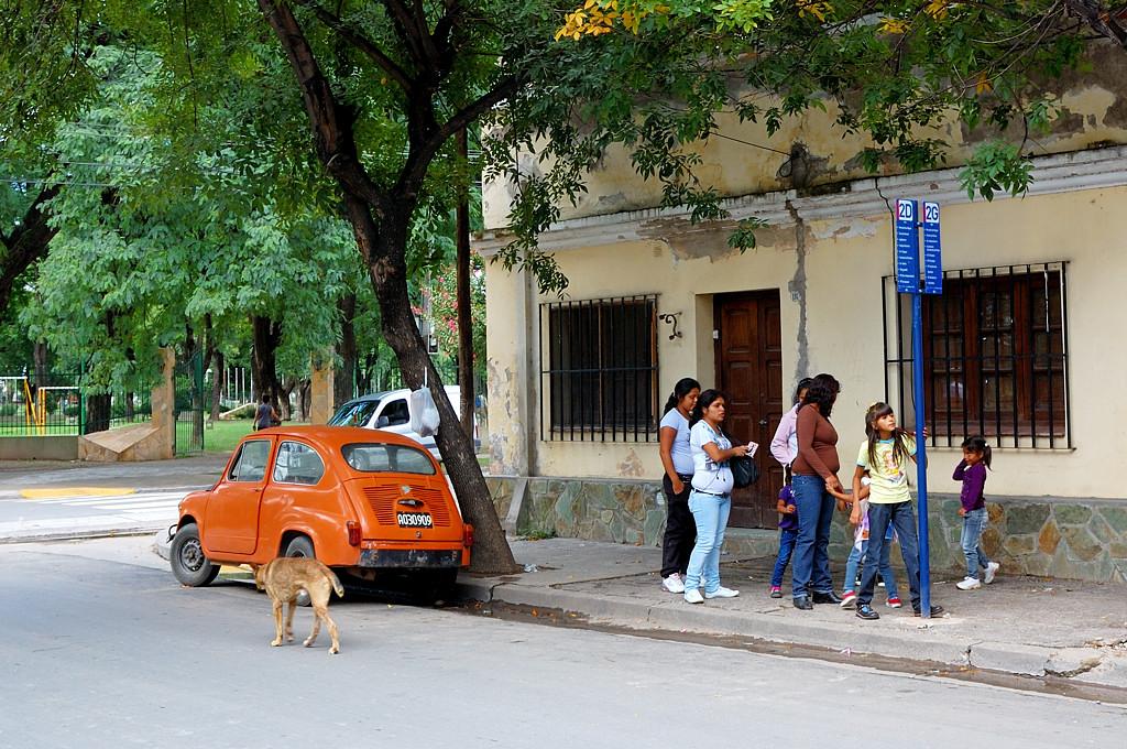 На улицах Сальты