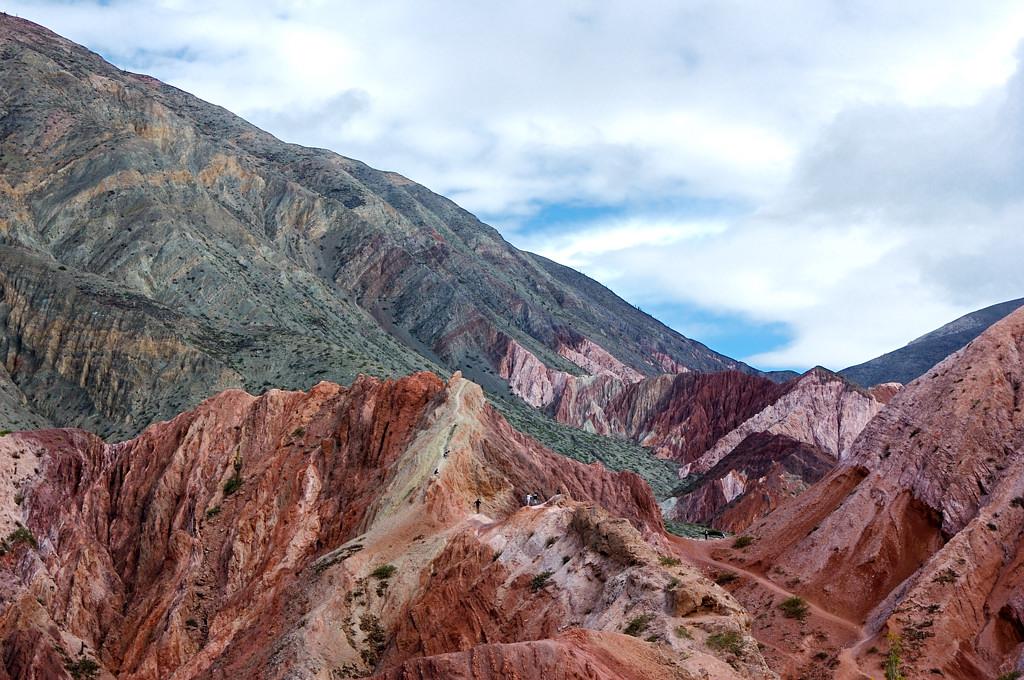 Цветные скалы Пурмамарки
