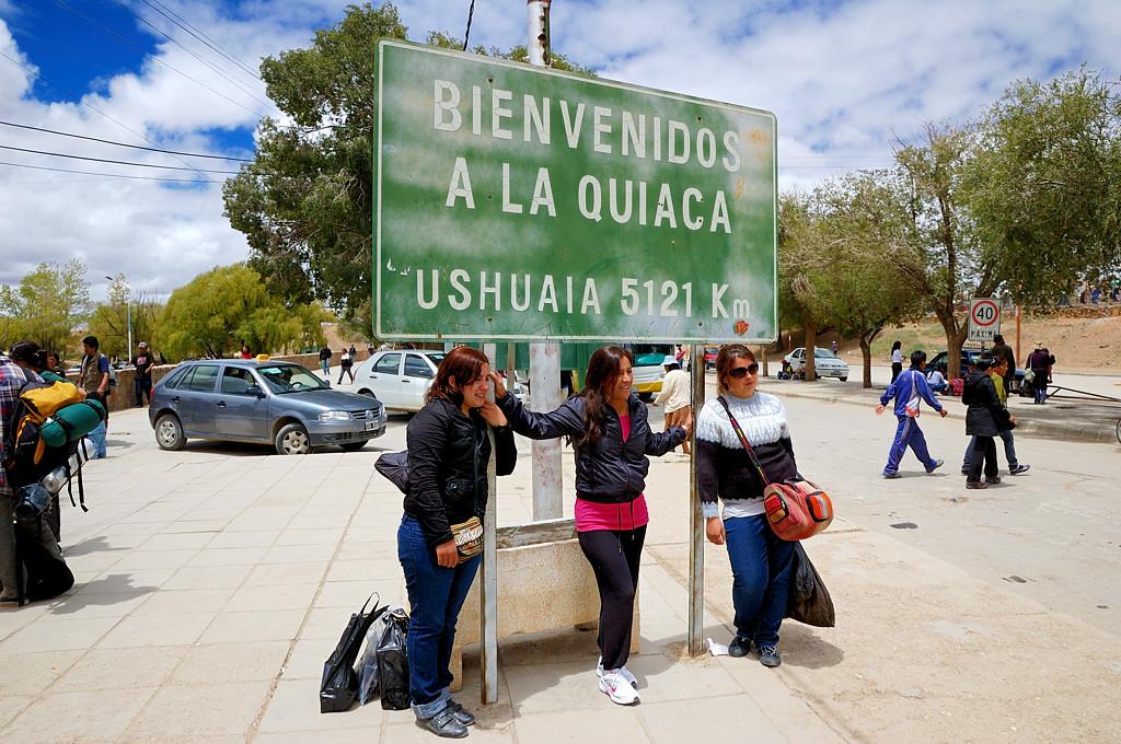 Ла-Киака, самый север Аргентины. Отсюда до Огненной Земли 5,000 км. Не верится, что так много.