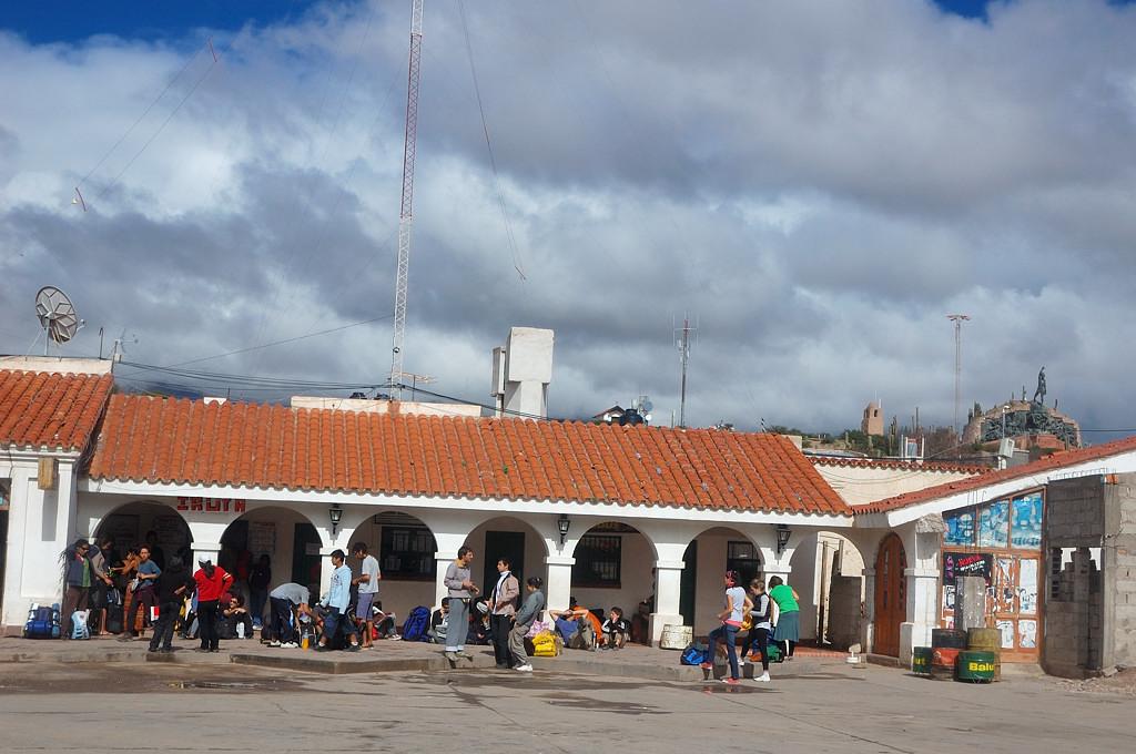 На автовокзале в Умауаке