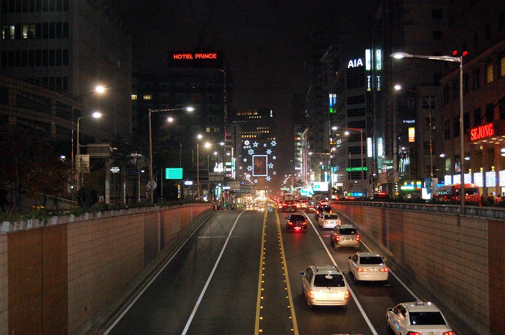 Вечерний Сеул