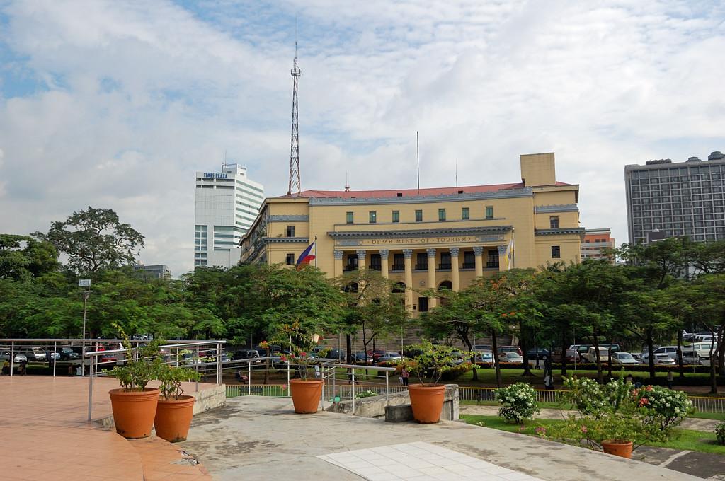 Здание министерства туризма