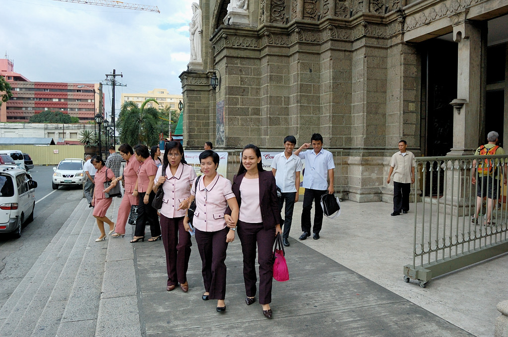 У кафедрального собора
