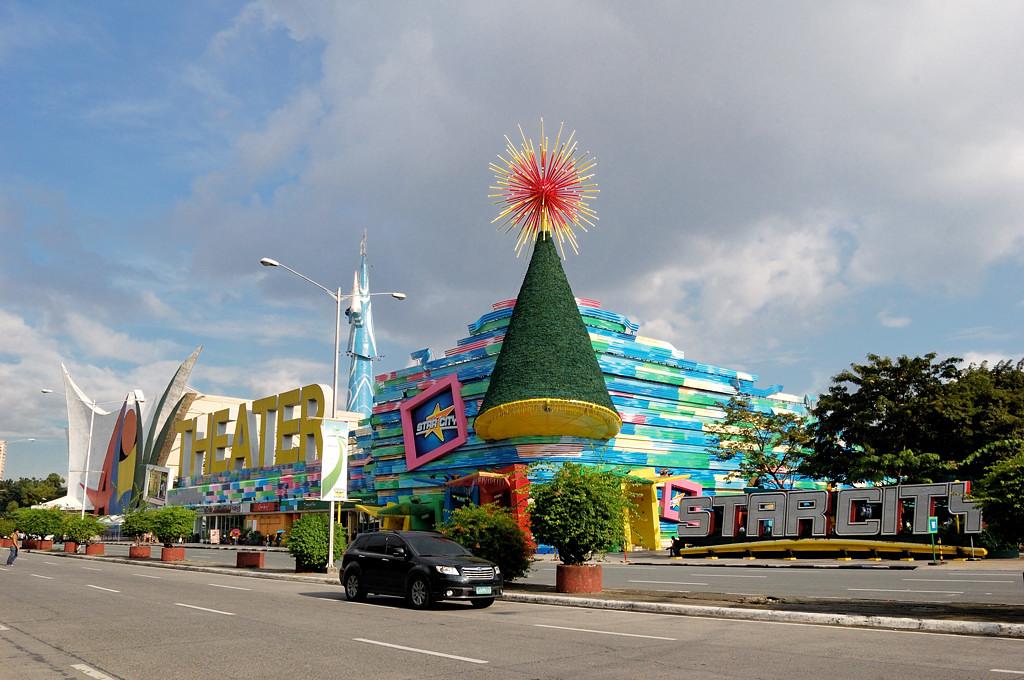 Развлекательный центр вблизи порта
