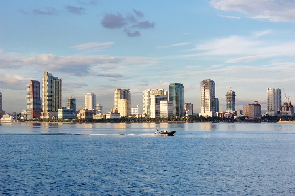 Манила, вид с моря