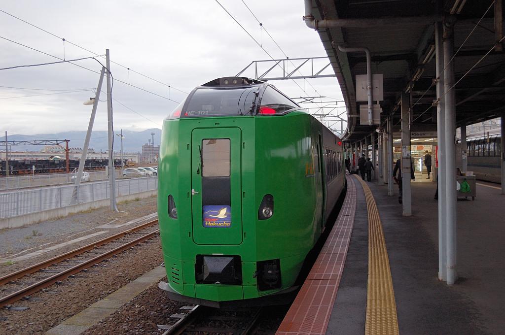 Поезд Супер Хакучо