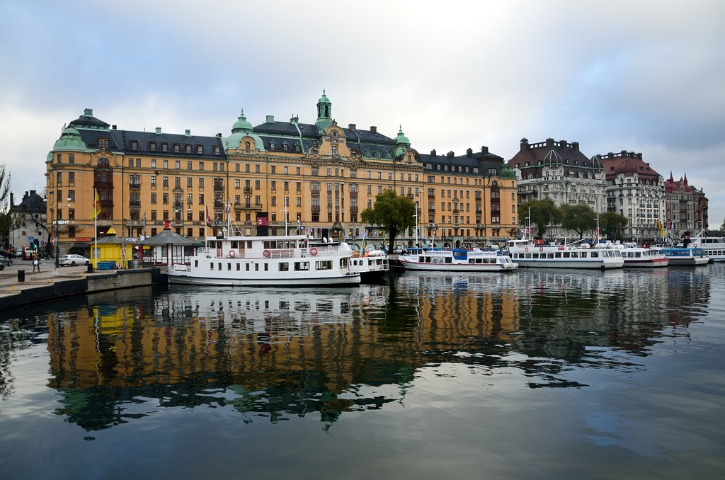 Стокгольм. Классический вид