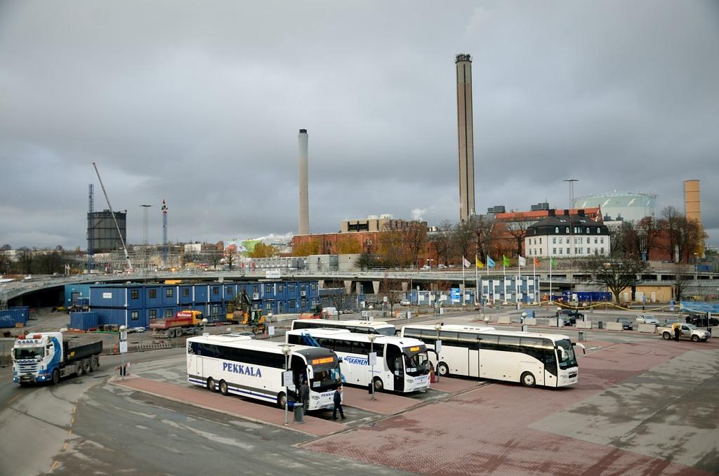 Вид с терминала Tallink