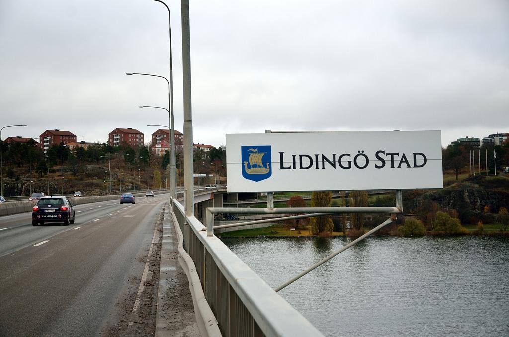 Мост в Лидингё