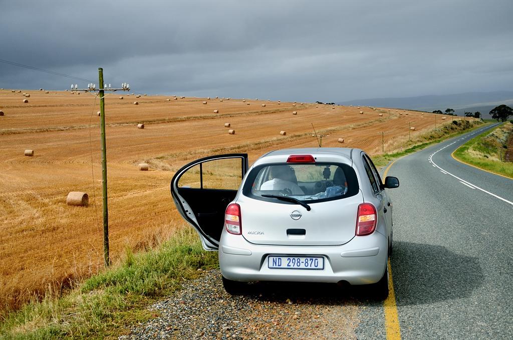 Поля в этой части ЮАР безумно красивые