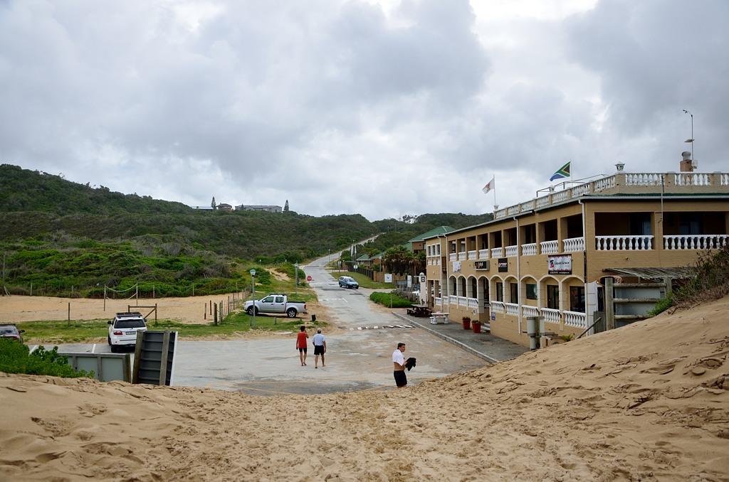 Седжфилд, наш отель на берегу океана