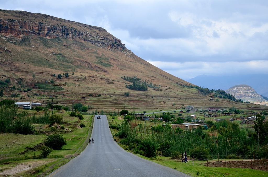 Въезжаем в Лесото