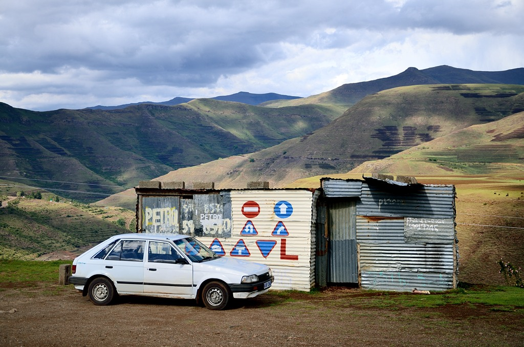 Лесотская автозаправка :)